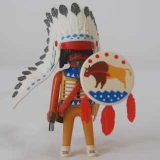 Playmobil red indian with bow (Playmobil 4652)