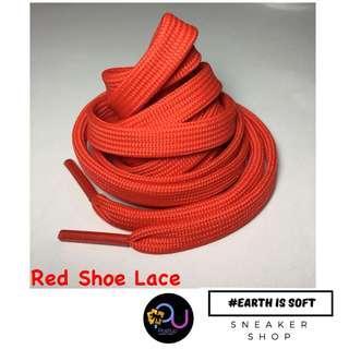 poshup RED Plain Shoelace