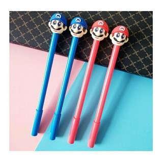 Super Mario Gel Ink Pens