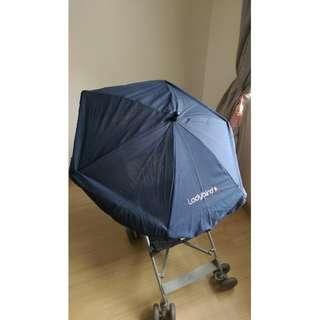 Ladybird Parasol with Universal Clamp for Stroller