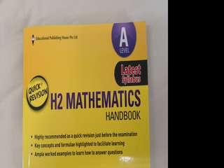 A Levels H2 Mathematics Quick Revision Handbook