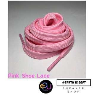 poshup PINK Plain Shoelace