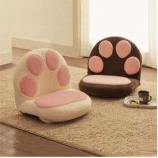 貓爪梳化 ($298包送貨) 懶人梳化兒童梳化坐地梳化椅床邊椅床頭椅打機椅貓貓坐墊