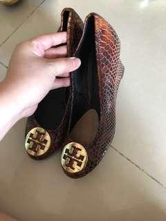 Tory Burch Brown Coklat Shoes High Heels