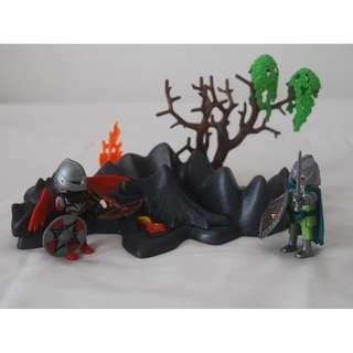 Playmobil dragon rock with knights (Playmobil 4147)