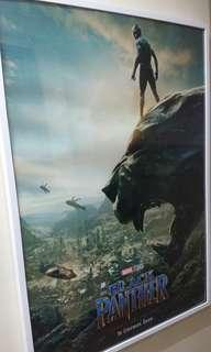 Marvel 黑豹巨型美版海報連白色畫框