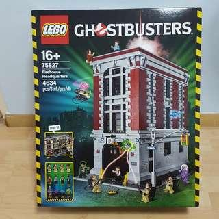 Lego 75827 Ghostbusters HQ - brand new MISB minor dent and crease last box