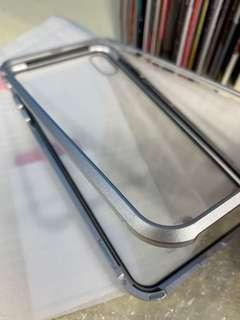 可議 磁能套 金屬 框 磁力 for apple iPhone XS Max only ,加$10 玻璃貼 #抽奬品 手機款 殼