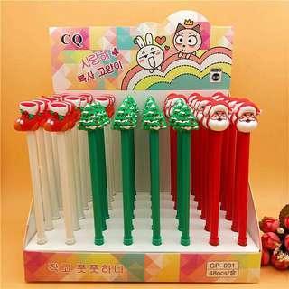 Christmas Design Gel Ink Pens