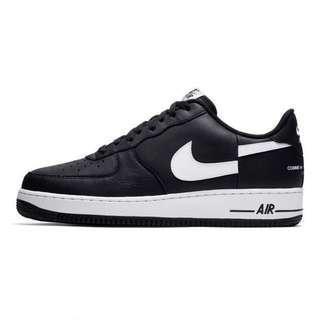 Supreme x Comme des Garçons SHIRT x Nike Air Force 1 Low (Black)
