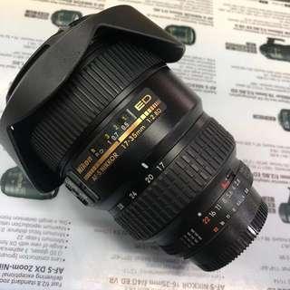 Nikon AFS 17-35mm F2.8D ED