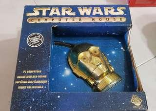 Star Wars C3PO PS/2 Mouse