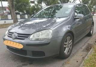 🇸🇬🇸🇬offer2🇸🇬🇸🇬 2008 Volkswagen  Golf *Rare Model* 1.4A MK5 TSI Engine Supercharged Got Reverse Camera n Monitor Temperature Meter Low Mileage *(155953Km)* Under Carriage All Good Very Good Condition Clean interior Nice Exterior 6.5k