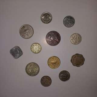 【錢幣收藏】印度舊硬幣 India old coins