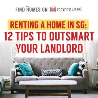 Check out 12 Tips To Outsmart Your Landlord