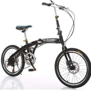 PROMO-Brand new Foldable Bicycle with Disk brakes & Shimano gear etc