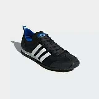 Sepatu Adidas Vs JOG Mens Black
