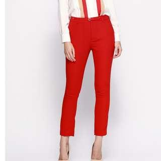 Fashion casual cropped pants - new
