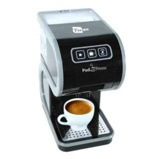 全新有盒 捷榮 意式軟包咖啡機 Pod Presso Coffee Machine 100%NEW 搬遷清貨