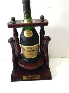 [舊酒珍藏]稀有70年代百事吉 大香檳區干邑700ml連炮架