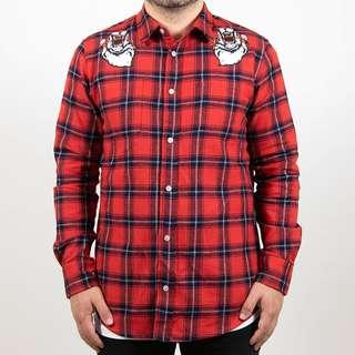 ROIALE | RED TIGER PLAID
