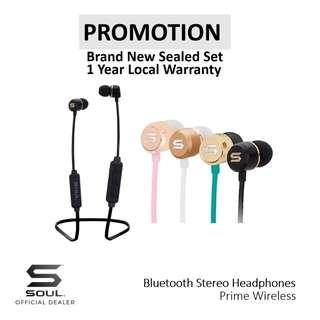 Soul Prime Wireless Bluetooth Stereo Headphone