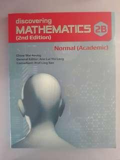 Discovering Mathematics 2B