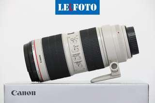 Canon 70-200mm IS F2. 8 Mark2