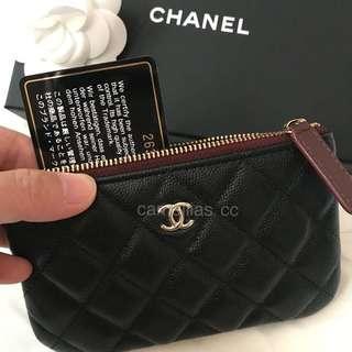 BNIB Chanel Black Mini O Case