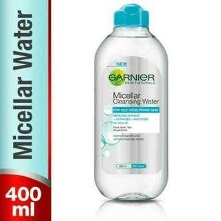Garnier Micellar Cleansing Water 400 ml for oily skin