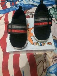 #jualanibu Sepatu Hitam Kids Litte M