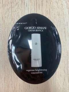 Giorgio Armani supreme brightening concentrate 1ml