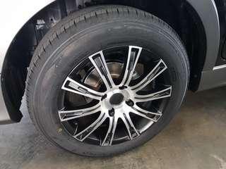 Brand New Toyota Avanza X rim & tyres