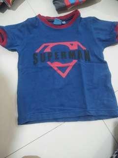 #jualanibu kaos superman utk umur 2thb