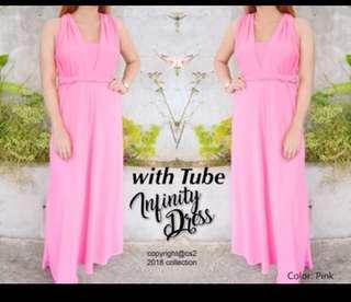 Pink Infinity Dress