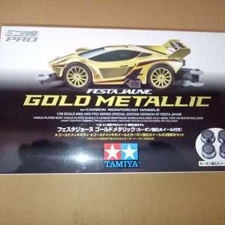 Festa Jaune Gold Metallic