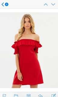 Iconic off shoulder dress 8