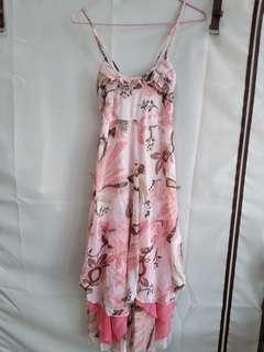 🚚 夢幻逸品 粉紅 洋裝 沙灘風