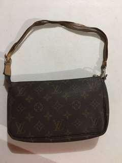 Preloved LV wristlet monogram