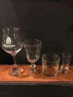 Wine Glasses Beer Glasses Whiskey Glasses and more