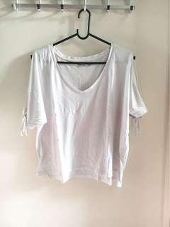 Zara white tshirt