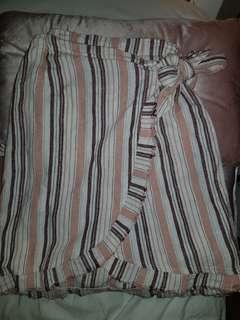 Linen wrap skirt size 6-8