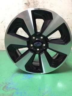 17 inch PCD 5-100 Original SUBARU Rims On Offer Sale