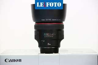 Canon 85mm F1. 2 mark 2