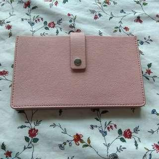 Powder pink Fossil wallet