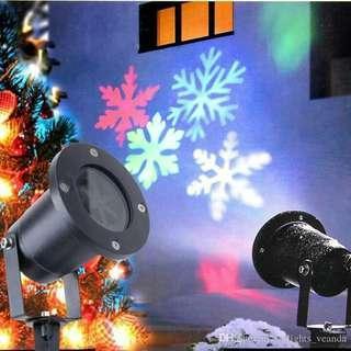 Outdoor Christmas LED snowflake  garden lights