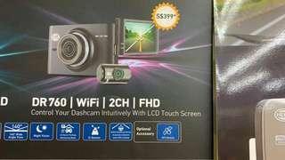 Hella 2 Channel FHD Recorder Camera