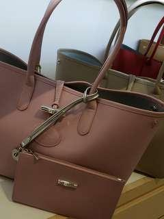 Longchamp Roseau Tote Bag SALE