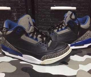 Air Jordan 3 Sports Blue
