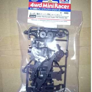 4WD Mini Racer Carbob Reinforced Super FM Chassis Set